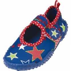 Uv waterschoenen blauw ster kinderen