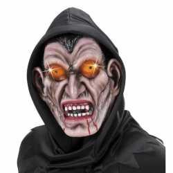 Vampier masker capuchon volwassenen