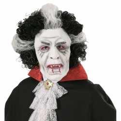 Vampier masker pruik volwassenen