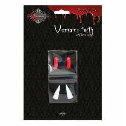 Vampiertanden halloween bloedcapsules