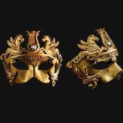 Venetiaans barok oogmasker goud