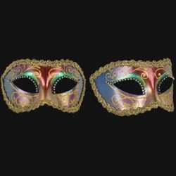 Venetiaans barok oogmasker multikleur