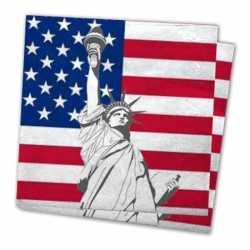 Verenigde Staten servetten 20 stuks