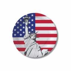 Verenigde Staten wegwerp bordjes 10 stuks