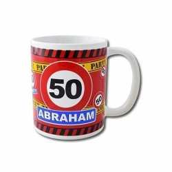 Verjaardag 50 jaar abraham mok / beker 250 ml