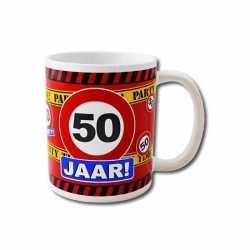 Verjaardag 50 jaar mok / beker 250 ml
