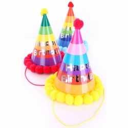 Verjaardag feesthoedje volwassenen