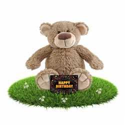 Verjaardag knuffel beer 40 + gratis verjaardagskaart