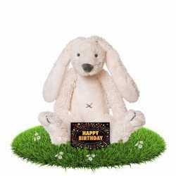 Verjaardag knuffel konijn 28 gratis verjaardagskaart
