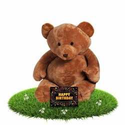 Verjaardag knuffelbeer boris 54 gratis verjaardagskaart