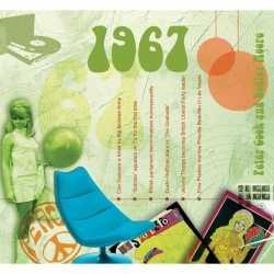 Verjaardagskaart 50 jaar muziek uit 1967