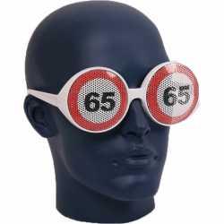 Verkeersborden bril 65 jaar