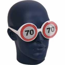 Verkeersborden bril 70 jaar