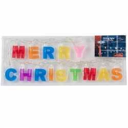 Verlichting Merry Christmas 2 m
