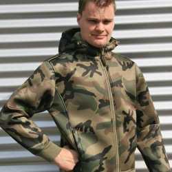 Vest camouflage print