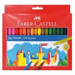 Viltstiften gekleurd 36 stuks