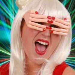 Vingerbril rode nagels