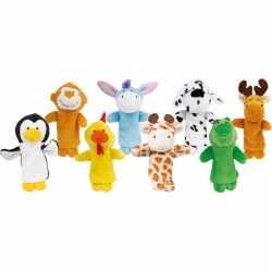 Vingerpopjes dierenvriendjes 8 stuks