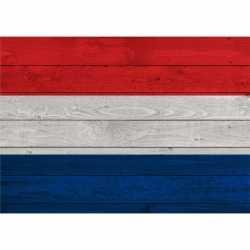 Vintage nederlandse vlag poster 84 bij 59
