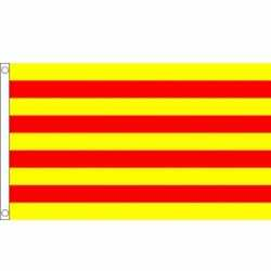 Vlag Catalonie 90 bij 150