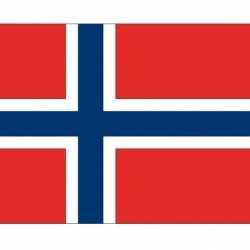 Vlag Noorwegen stickers