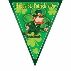 Vlaggenlijn St. Patricks Day