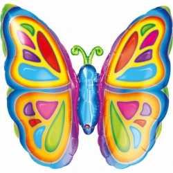 Vlinder folie ballon 63