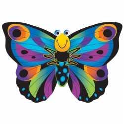 Vlinder vlieger gekleurd 76 bij 112