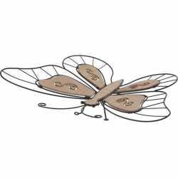 Vlinder wanddecoratie metaal 44