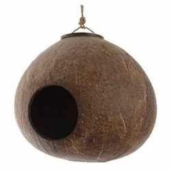 Vogelhuisje kokosnoot aan hanger 16 tuin decoraties