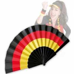 Waaier de kleuren van de Duitse vlag