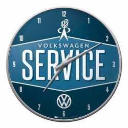 Wandklok volkswagen service 31