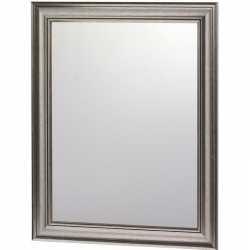 Wandspiegel antraciet sierlijst 30 bij 40
