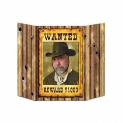 Wanted foto bord 94 bij 63