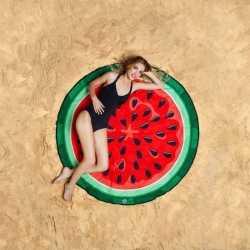 Watermeloen strandlaken 150