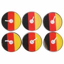 Waxinelichtjes Duitsland 6 stuks