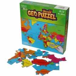 Wereld puzzel kinderen