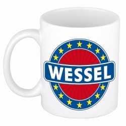 Wessel naam koffie mok / beker 300 ml
