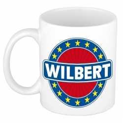 Wilbert naam koffie mok / beker 300 ml