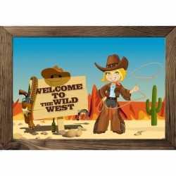 Wilde westen poster 59 bij 42