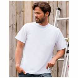 Wit grote maten t shirt 3xl