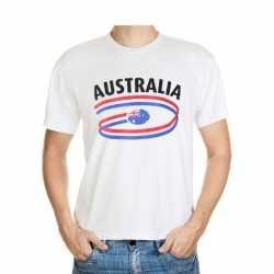 Wit heren t-shirt Australie