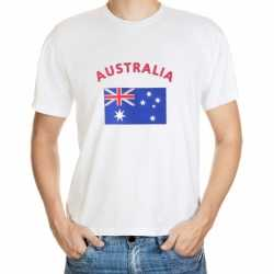 Wit heren t-shirt Australie