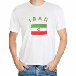Wit heren t-shirt Iran