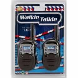 Wit/oranje walkie talkie kinderen