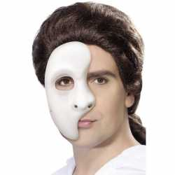 Wit phantom of the opera masker heren