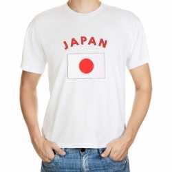 Wit t-shirt Japan volwassenen
