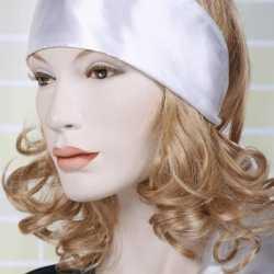 Witte hoofd sjaal