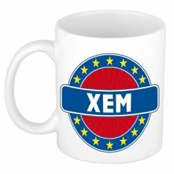 Xem naam koffie mok / beker 300 ml