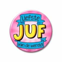 XXL button liefste juf